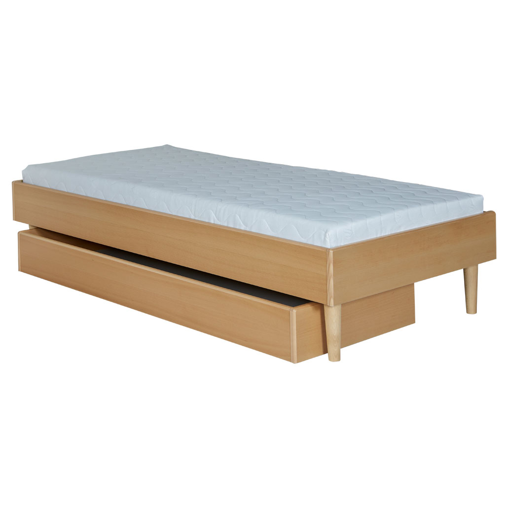 Smuk Sengerammer, sengetøjsskuffer, madrasser, sengeborde - møbelfabrik DY-49