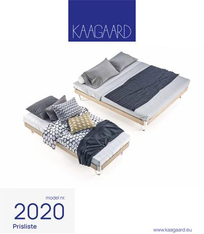 kaagaard prisliste model 2020